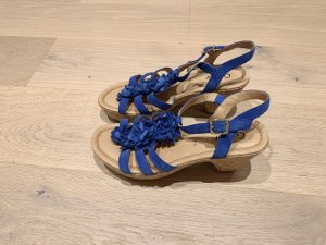 Gabor Strapped High-Heeled Sandals blue