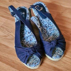 I love my style Pumps met sleehak blauw