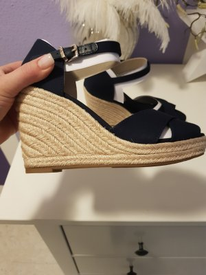Tommy Hilfiger Wedge Sandals dark blue