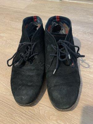 Tommy Hilfiger Zapatos brogue negro-azul oscuro