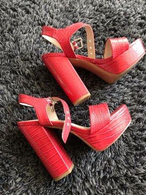 Schuhe Nagelneu von Deichmann orange