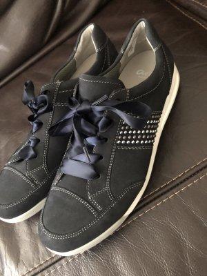 ara Chaussures à lacets bleu foncé