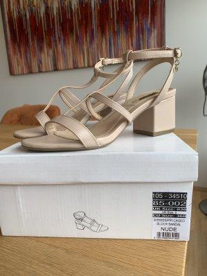 Schuhe Office 36 nude beige Sandalen