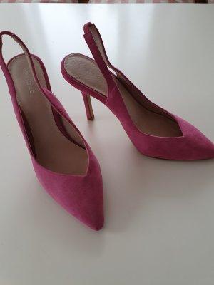Schuhe Pink Slingback