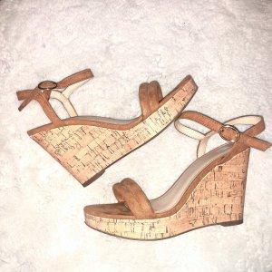 Schuhe Plateau Keilabsatz High Heels