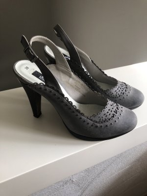 s.Oliver Slingback Pumps grey