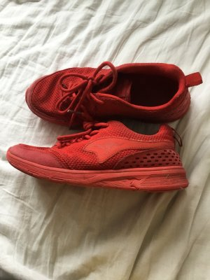 Kangaroos Lace-Up Sneaker red synthetic fibre