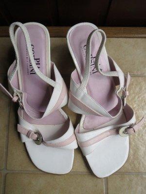 Schuhe, Sandaletten, Gr.37, weiß-rosa