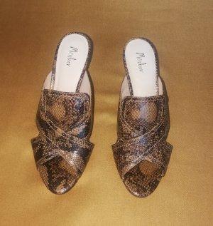 Schuhe Schlangenoptik