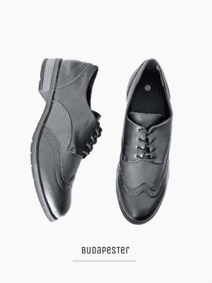 Vintage Oxfords black