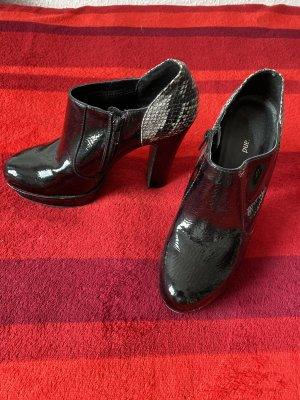 Schuhe schwarz Lack, Gr.39