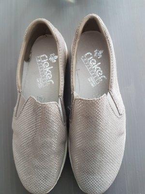 Rieker Slip-on Sneakers silver-colored-light grey