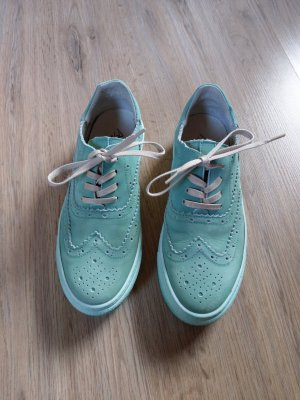 Andrea Conti Lace-Up Sneaker mint