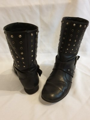 edc by Esprit Short Boots black-silver-colored