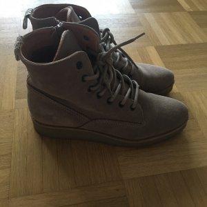 Schuhe Stiefeletten Schnürschuhe