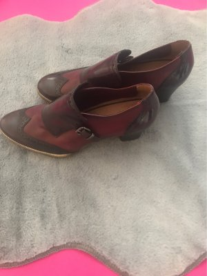 Tamaris Slip-on Shoes dark brown-bordeaux