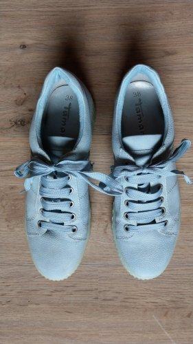 Schuhe Turnschuhe Tamaris Gr 38 hellblau