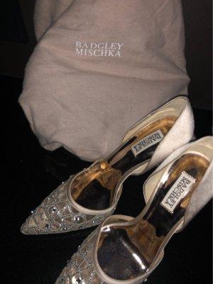 Schuhe Ungetragen Badgley Mischka Glitzer