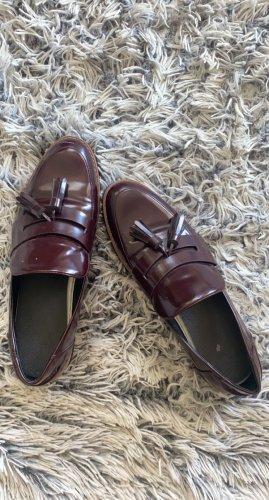 Tamaris Botas de tobillo rojo amarronado
