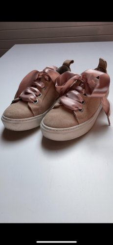 Another A Lace Shoes white-light pink