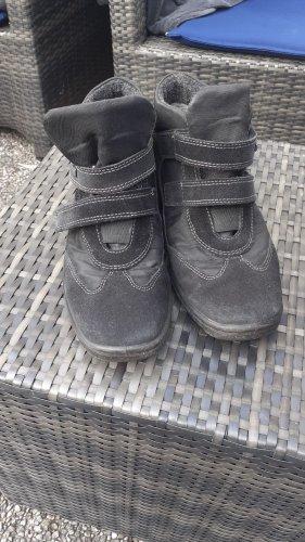 ara Korte laarzen zwart-grijs