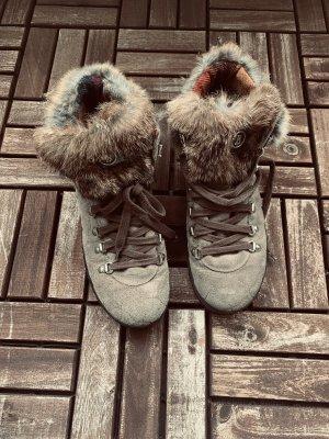 Bogner Bottine d'hiver gris brun