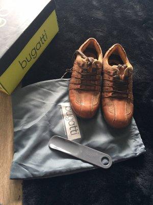Bugatti Sznurowane buty brązowy