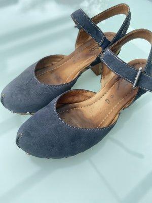 Gabor Comfort Tacones de tiras azul oscuro