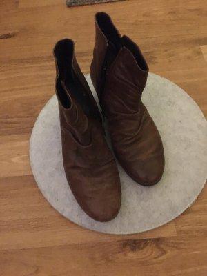 Gabor Zapatos estilo Oxford marrón Cuero