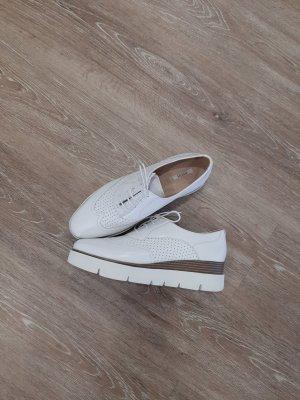 Geox Respira Wingtip Shoes natural white-cream