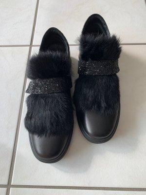 Schuhe von KS mit echtem Fell