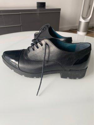 Lasocki Moccasins black leather