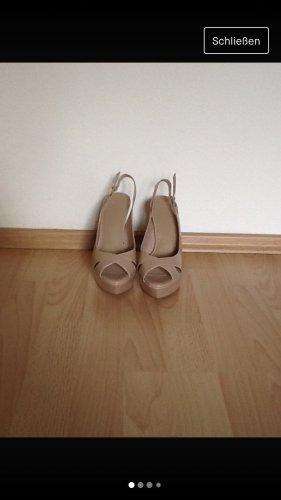 Schuhe von Mango in 36, Puder , Neu!!