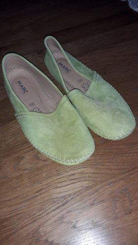 MARC Sneaker slip-on verde chiaro