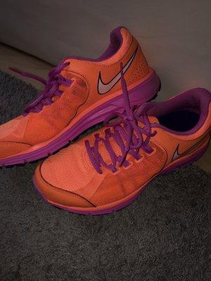 Nike Lace-Up Sneaker orange-violet