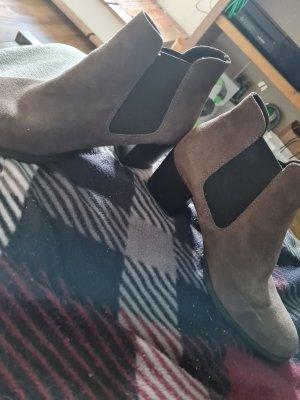 Tamaris Stivale elasticizzato marrone-grigio