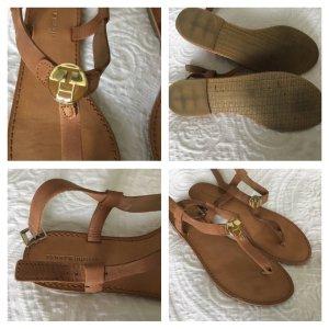 Tommy Hilfiger Strapped Sandals camel-beige leather