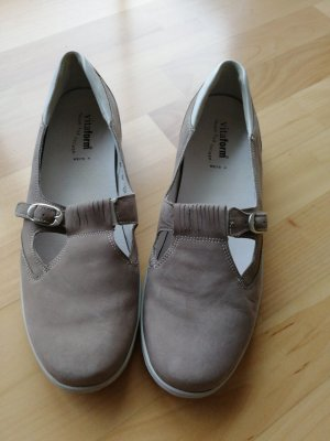 Waldläufer Mary Jane Schoenen beige