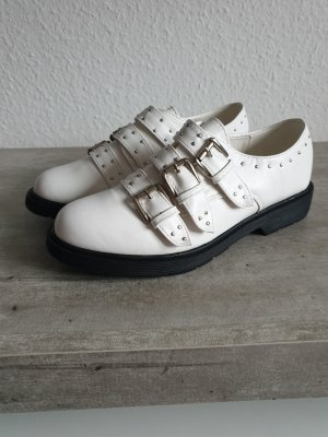Butik Wingtip Shoes white