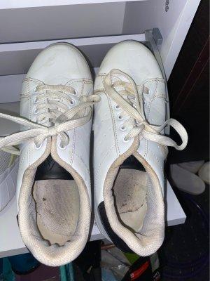 Schuhe Weiß