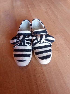 Schuhe Zebra Look