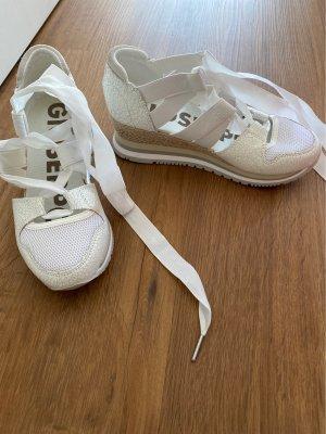 Platform Sandals white