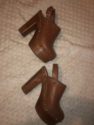Forever 21 Sandales à talons hauts et plateforme brun