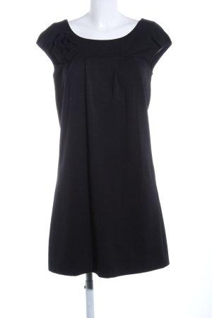 Schuhmacher A-Linien Kleid schwarz Casual-Look