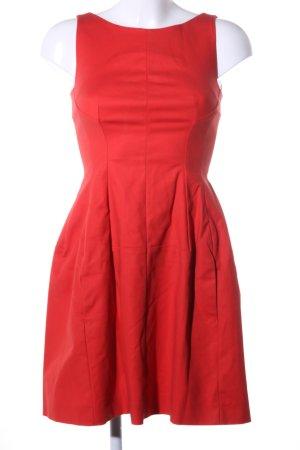 Schuhmacher A-Linien Kleid rot Elegant