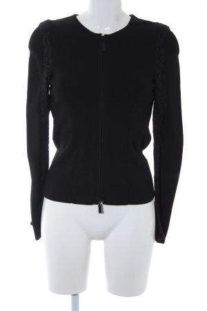 Schuhmacher Cardigan schwarz Elegant
