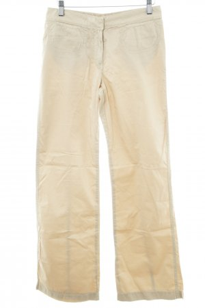 Schuhmacher Pantalon kaki crème style décontracté