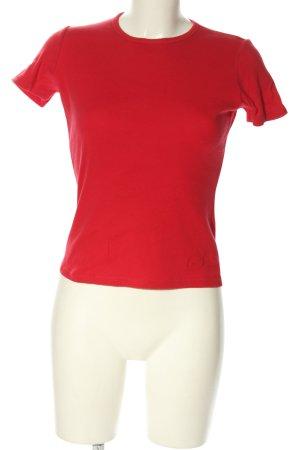 Schuhmacher T-Shirt rot Casual-Look