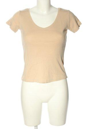 Schuhmacher V-Ausschnitt-Shirt wollweiß Casual-Look