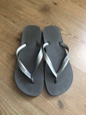 Havaianas Entre-doigt gris-argenté